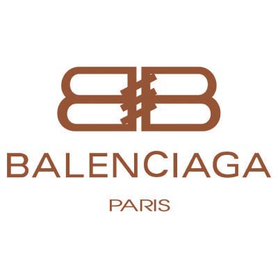 Custom balenciaga logo iron on transfers (Decal Sticker) No.100005