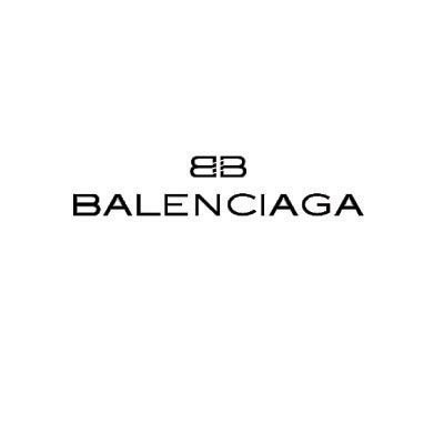 Custom balenciaga logo iron on transfers (Decal Sticker) No.100007
