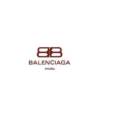 Custom balenciaga logo iron on transfers (Decal Sticker) No.100008