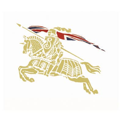 Custom burberry logo iron on transfers (Decal Sticker) No.100014