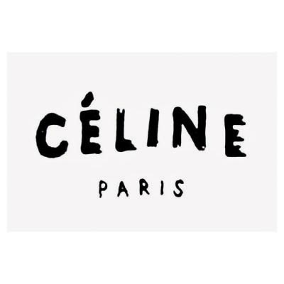 Custom celine logo iron on transfers (Decal Sticker) No.100015