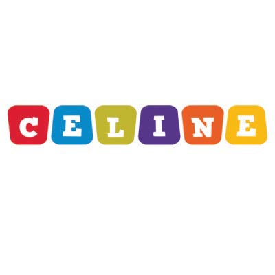 Custom celine logo iron on transfers (Decal Sticker) No.100017