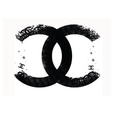 Custom chanel logo iron on transfers (Decal Sticker) No.100021