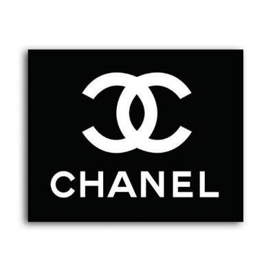 Custom chanel logo iron on transfers (Decal Sticker) No.100024