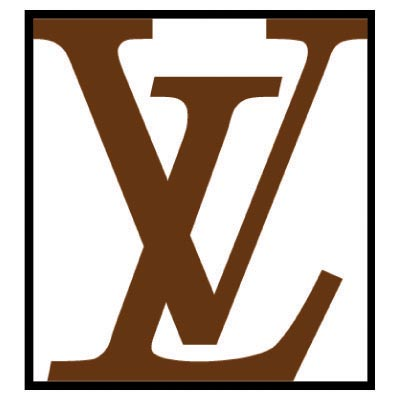 Custom louis vuitton logo iron on transfers (Decal Sticker) No.100079
