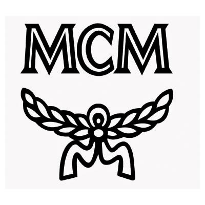 Custom mcm worldwide logo iron on transfers (Decal Sticker) No.100086