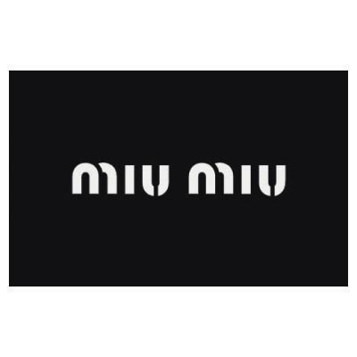 Custom miu miu logo iron on transfers (Decal Sticker) No.100095