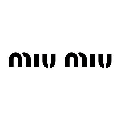 Custom miu miu logo iron on transfers (Decal Sticker) No.100096