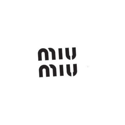 Custom miu miu logo iron on transfers (Decal Sticker) No.100097