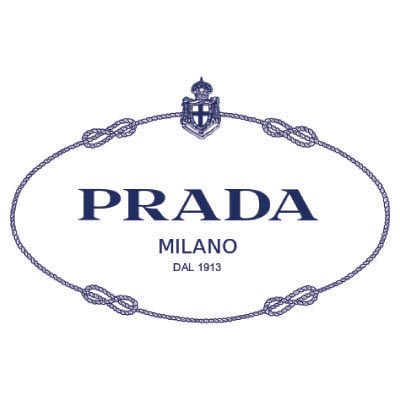 Custom prada logo iron on transfers (Decal Sticker) No.100107