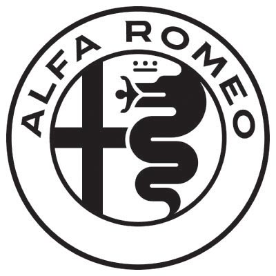 Custom alfa romeo logo iron on transfers (Decal Sticker) No.100121