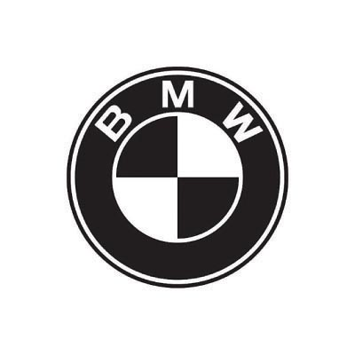 Custom bmw logo iron on transfers (Decal Sticker) No.100131