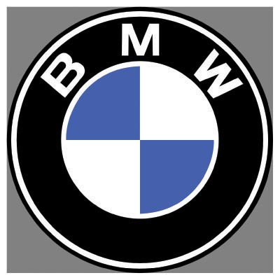 Custom bmw logo iron on transfers (Decal Sticker) No.100134
