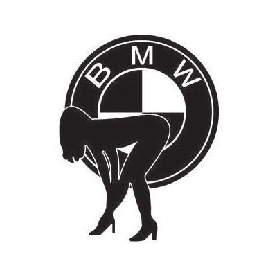 Custom bmw logo iron on transfers (Decal Sticker) No.100135