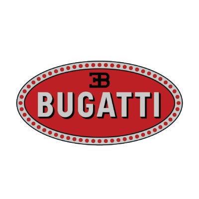 Custom bugatti logo iron on transfers (Decal Sticker) No.100139