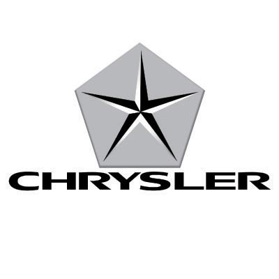 Custom chrysler logo iron on transfers (Decal Sticker) No.100159
