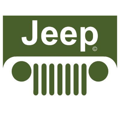 Custom jeep logo iron on transfers (Decal Sticker) No.100193