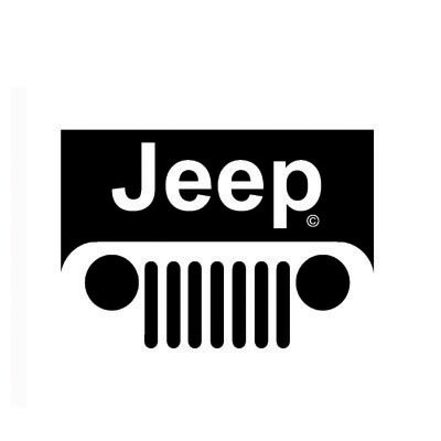 Custom jeep logo iron on transfers (Decal Sticker) No.100195