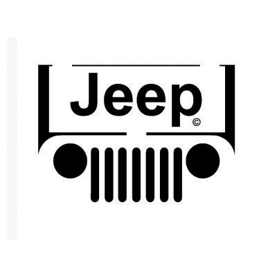 Custom jeep logo iron on transfers decal sticker no 100197