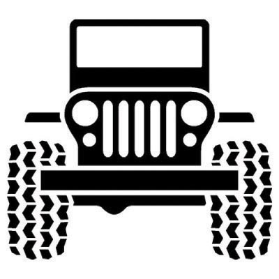 Custom jeep logo iron on transfers (Decal Sticker) No.100198