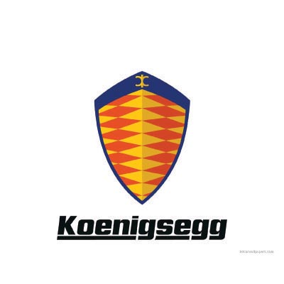Custom koenigsegg logo iron on transfers (Decal Sticker) No.100200