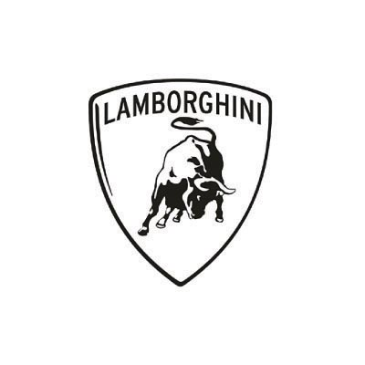 Custom lamborghini logo iron on transfers (Decal Sticker) No.100206