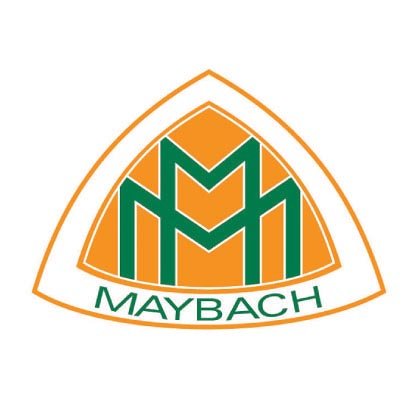 Custom maybach logo iron on transfers (Decal Sticker) No.100224