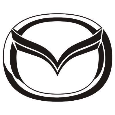 Custom mazda logo iron on transfers (Decal Sticker) No.100232