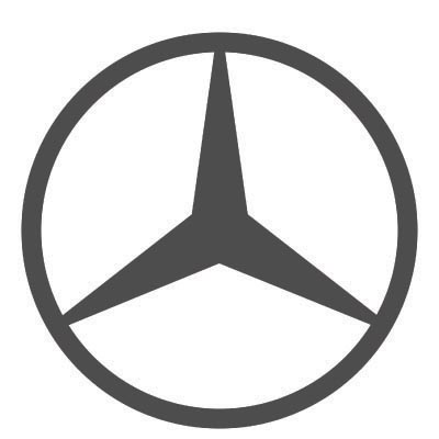 Custom mercedes-benz logo iron on transfers (Decal Sticker) No.100233