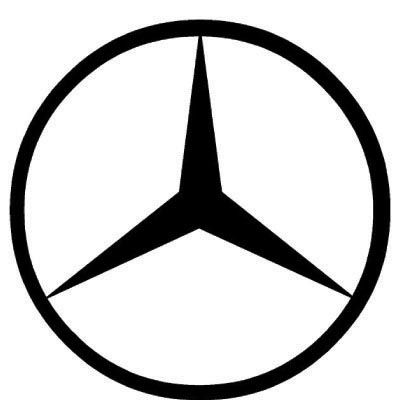 Custom mercedes-benz logo iron on transfers (Decal Sticker) No.100237