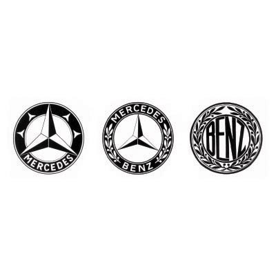 Custom mercedes-benz logo iron on transfers (Decal Sticker) No.100240