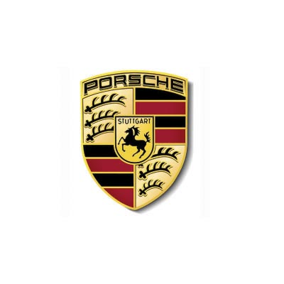 Custom porsche logo iron on transfers (Decal Sticker) No.100260