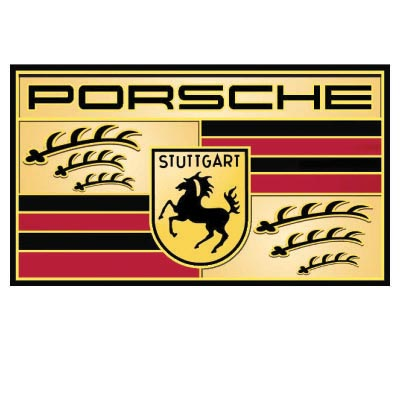 Custom porsche logo iron on transfers (Decal Sticker) No.100263
