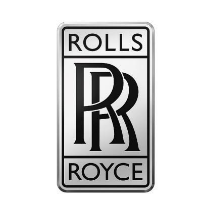 Custom rolls-royce logo iron on transfers (Decal Sticker) No.100276
