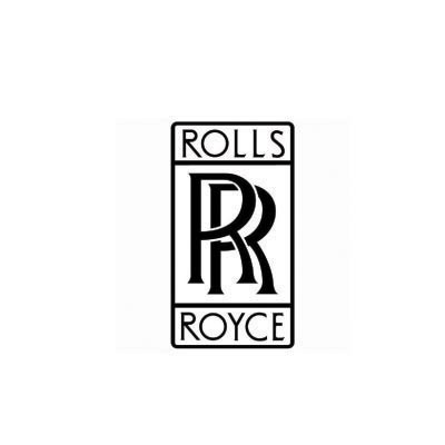 Custom rolls-royce logo iron on transfers (Decal Sticker) No.100277