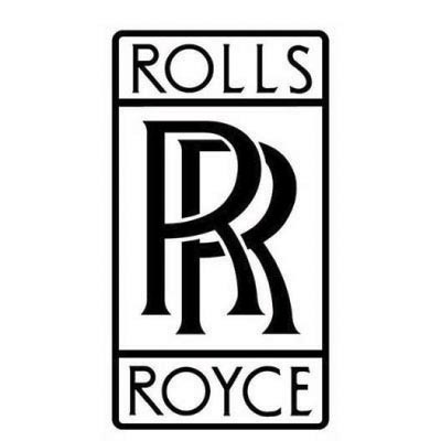 Custom rolls-royce logo iron on transfers (Decal Sticker) No.100279