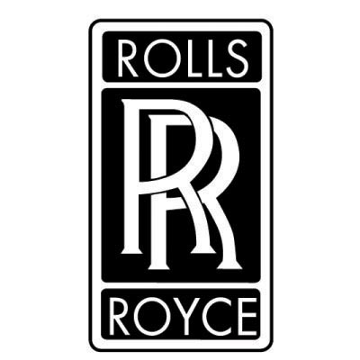 Custom rolls-royce logo iron on transfers (Decal Sticker) No.100281