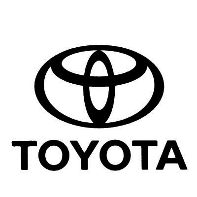 Custom toyota logo iron on transfers (Decal Sticker) No.100303