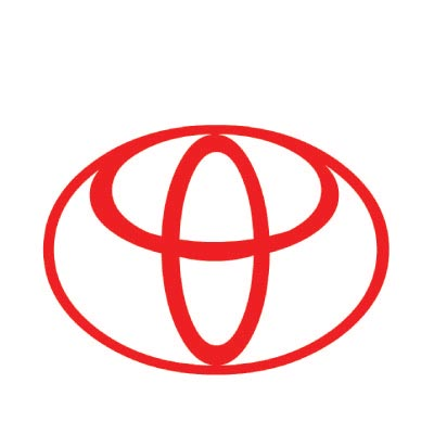 Custom toyota logo iron on transfers (Decal Sticker) No.100307