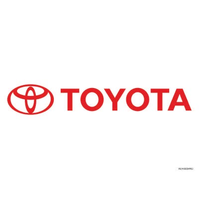 Custom toyota logo iron on transfers (Decal Sticker) No.100308