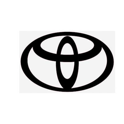 Custom toyota logo iron on transfers (Decal Sticker) No.100309