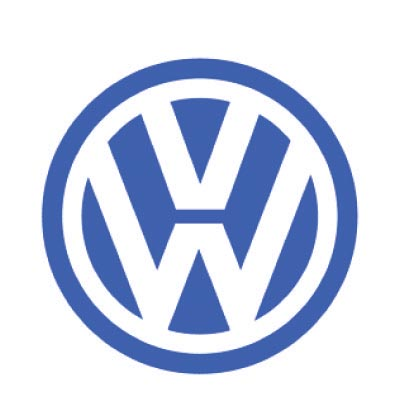 Custom volkswagen logo iron on transfers (Decal Sticker) No.100311