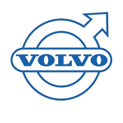 Custom volvo logo iron on transfers (Decal Sticker) No.100321