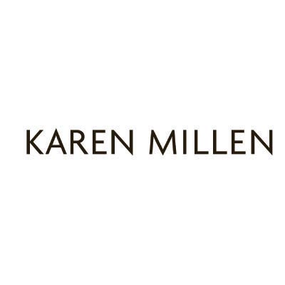 Custom karen millen logo iron on transfers (Decal Sticker) No.100361