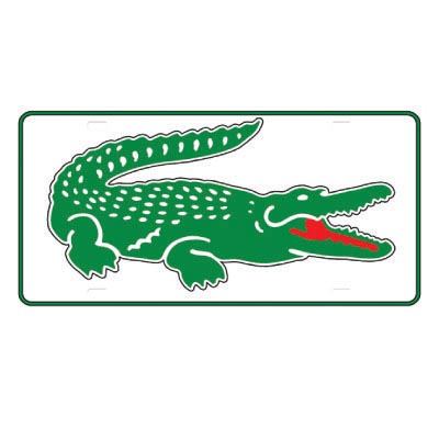 Custom lacoste logo iron on transfers (Decal Sticker) No.100371