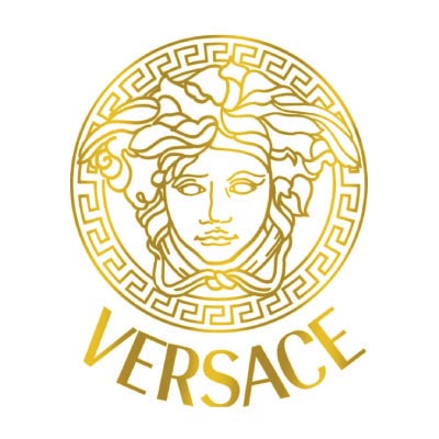 Custom versace logo iron on transfers (Decal Sticker) No.100408