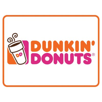 Custom dunkin donuts logo iron on transfers (Decal Sticker) No.100419