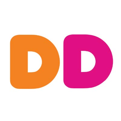 Custom dunkin donuts logo iron on transfers (Decal Sticker) No.100421
