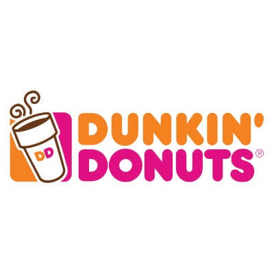 Custom dunkin donuts logo iron on transfers (Decal Sticker) No.100422