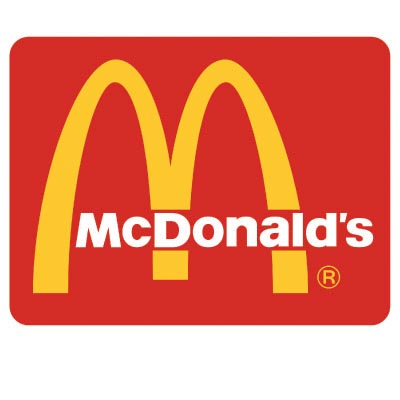 Custom mcdonalds logo iron on transfers (Decal Sticker) No.100424